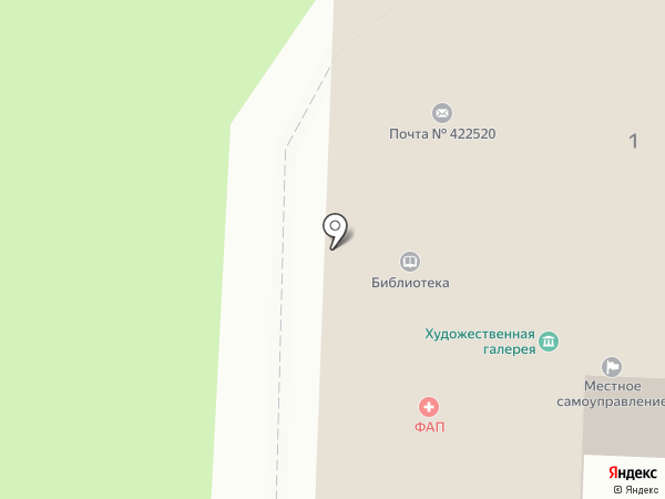 Администрация Свияжского сельского поселения на карте Свияжска