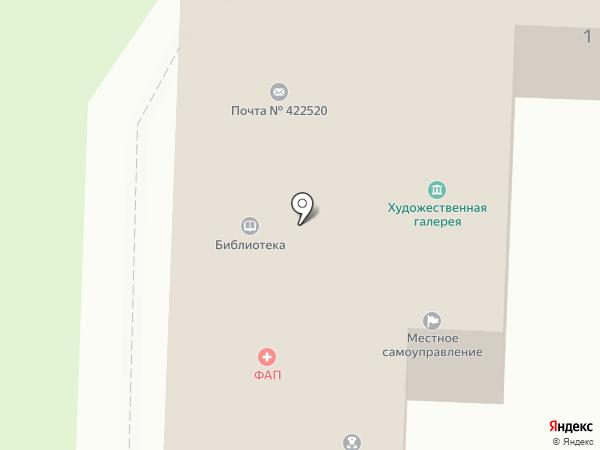 Свияжск на карте Свияжска