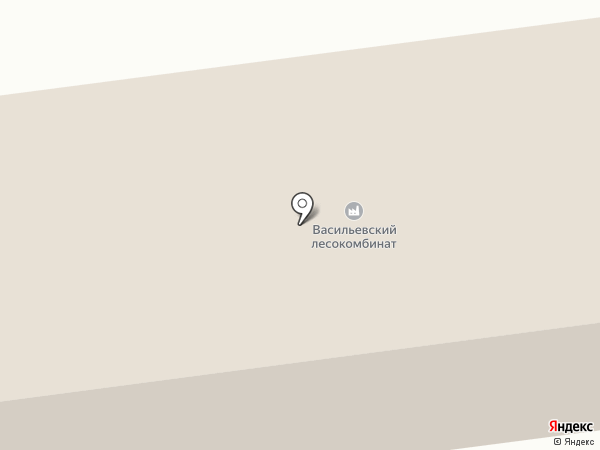 Васильевская нефтебаза, ЗАО на карте Васильево