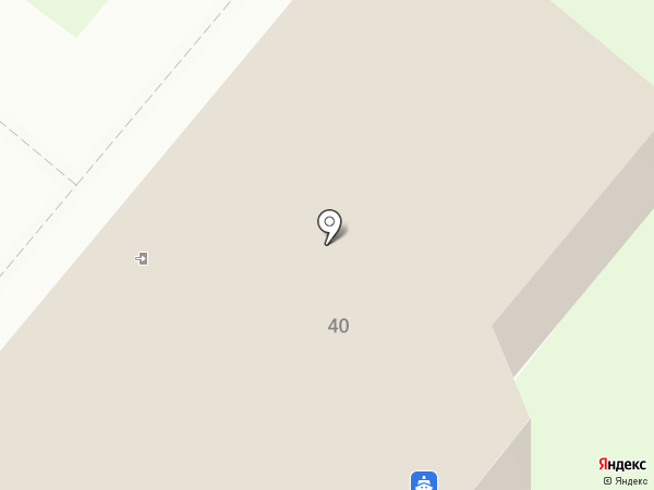 Речной вокзал на карте Свияжска