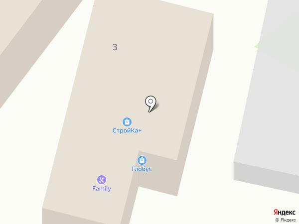 Стройка+ на карте Васильево