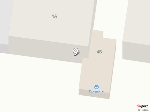 Сеть продуктовых магазинов на карте Васильево