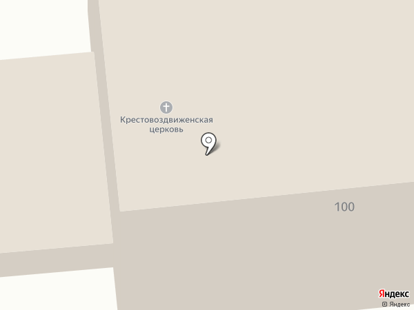 Храм Воздвижения Креста Господня на карте Васильево