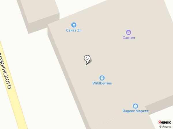Магазин автозапчастей на карте Васильево