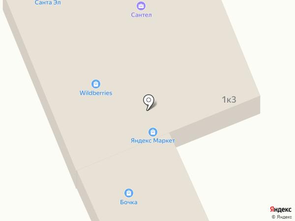 Магазин автозапчастей на ул. Дзержинского на карте Васильево
