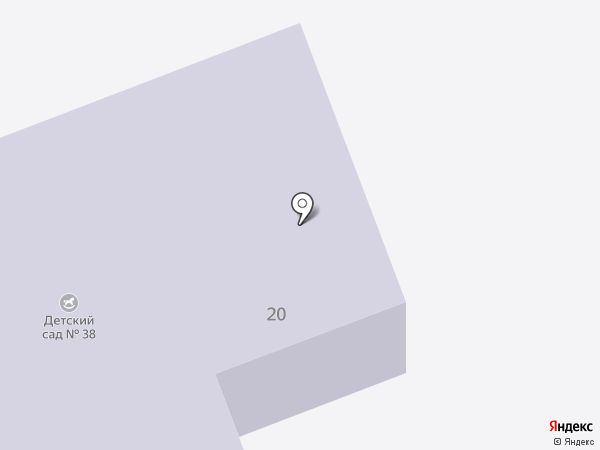 Детский сад №38 им. Н.К. Крупской на карте Васильево