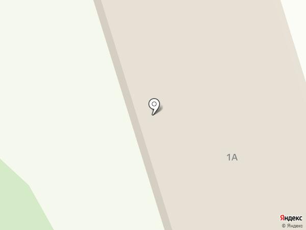 Буран на карте Мирного