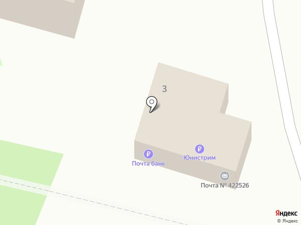 Почтовое отделение на карте Октябрьского