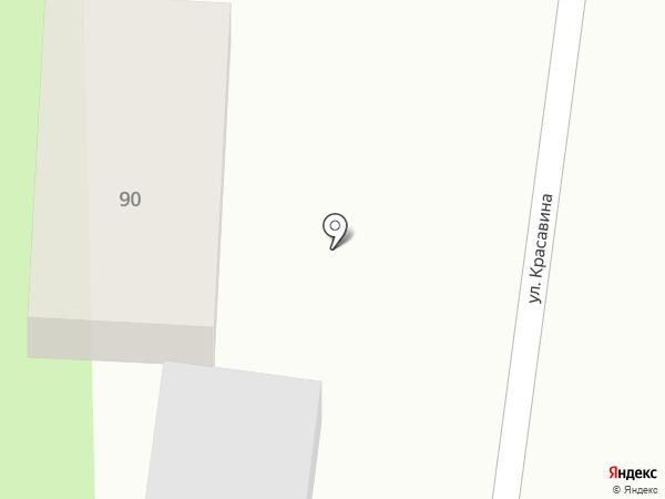 Продуктовый магазин на карте Набережных Моркваш
