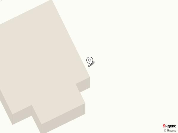 Причал на карте Нижнего Услона