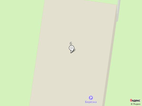 Березка на карте Ягодного