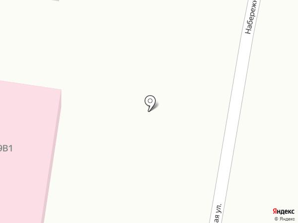 Отделение общей врачебной практики на карте Ягодного