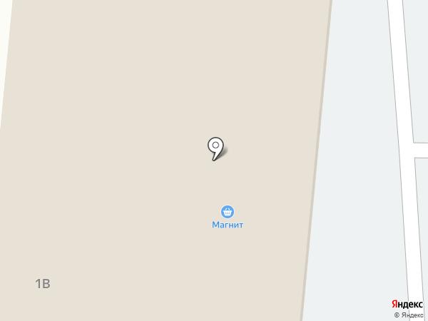 Магнит на карте Ягодного