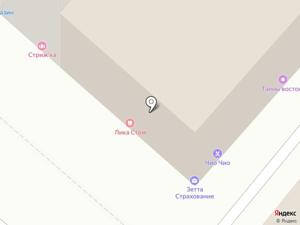 Феникс на карте Казани