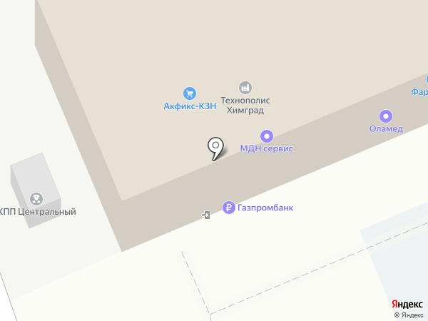 КурьерСервис Казань на карте Казани