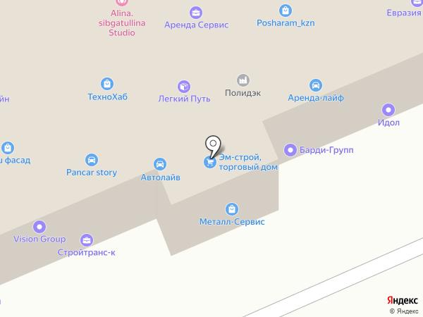 Фемида на карте Казани