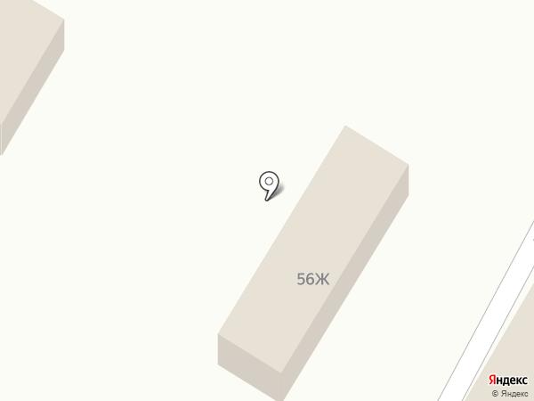 Магазин хозтоваров и автозапчастей на карте Усолья