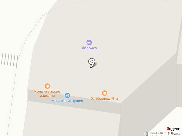 Казанский хлебозавод №3 на карте Казани