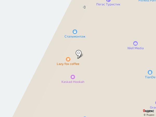 ZETA на карте Казани