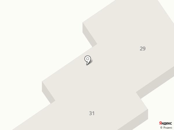 Чешский квартал на карте Ягодного
