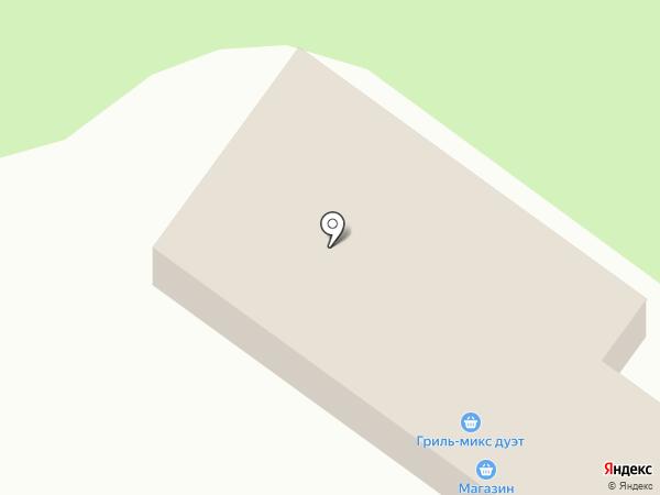 ГАЗ в ДОМ на карте Ягодного