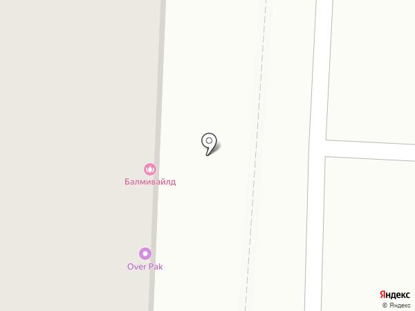 ОверПак на карте Казани