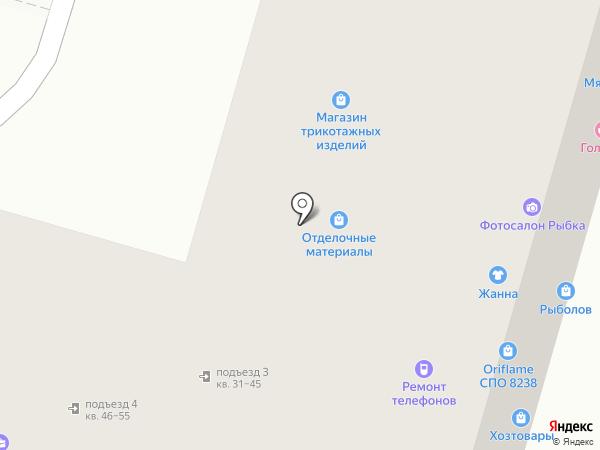 Жанна на карте Казани