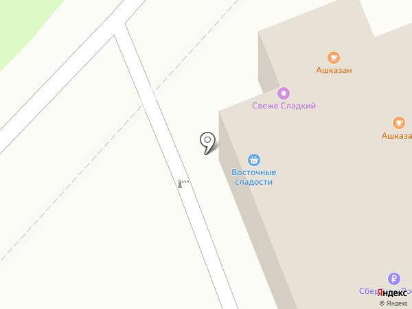 ТУКТАМАК на карте Казани