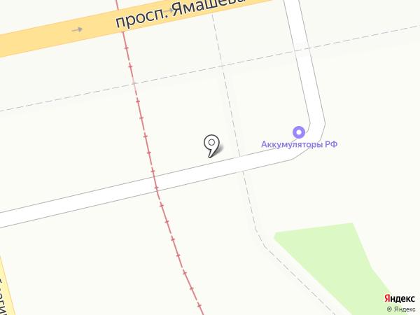 Автогриф на карте Казани