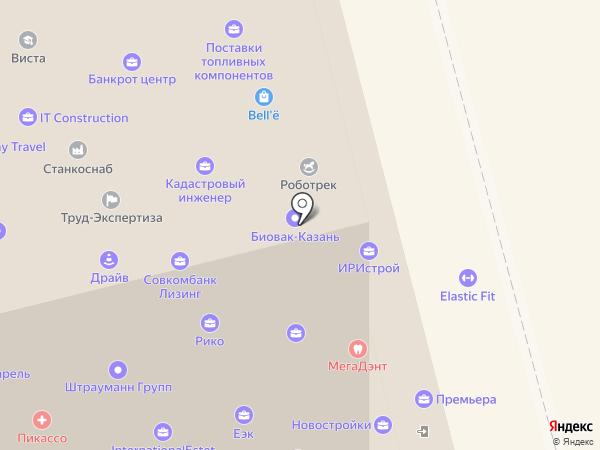 Юникредит банк на карте Казани