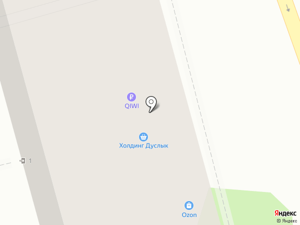 Дуслык Холдинг на карте Казани