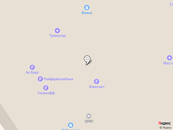 Элекснет на карте Казани