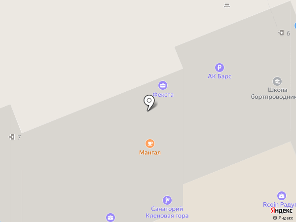 Объединение Турист на карте Казани