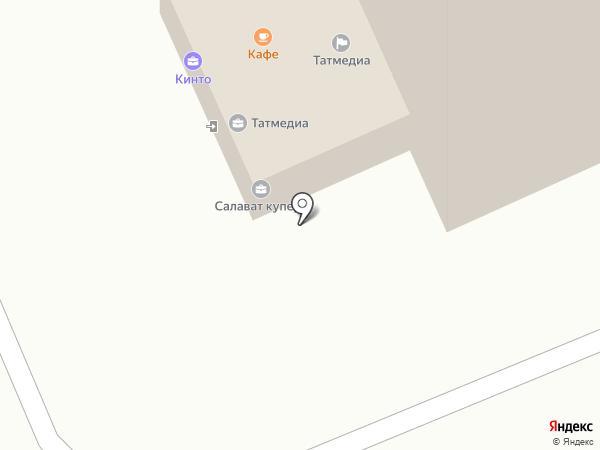 Студия шаржа и карикатуры на карте Казани