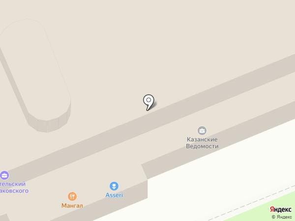 Шахри Казан на карте Казани
