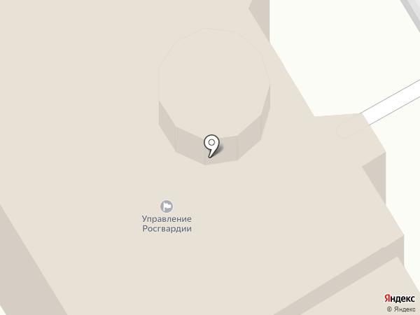 Управление Федеральной службы войск национальной гвардии России по Республике Татарстан на карте Казани
