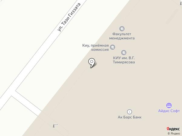 Автошкола на карте Казани