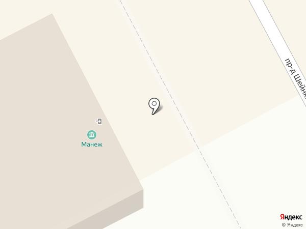 Манеж на карте Казани