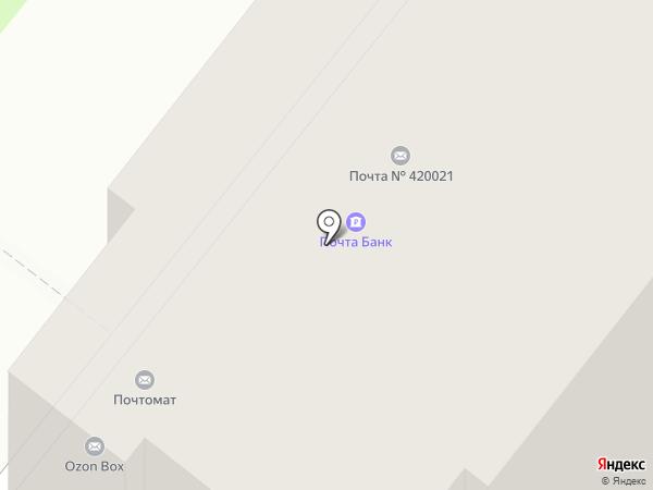 Почта Банк, ПАО на карте Казани