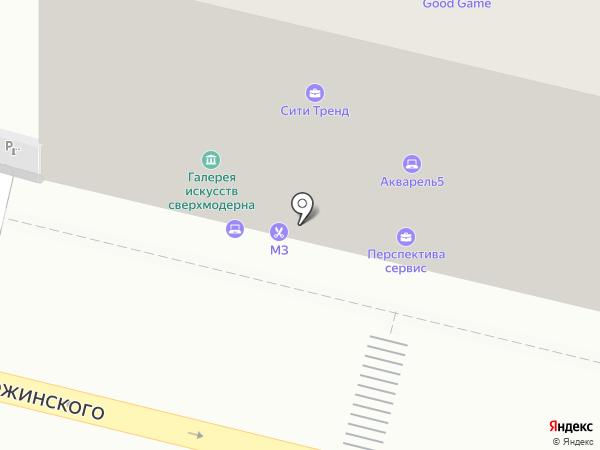 НОРДИНИ ПАНОРАМА на карте Казани