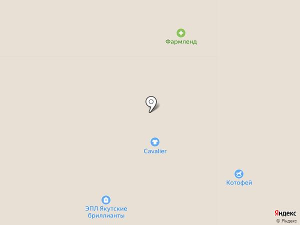 Котофей на карте Казани