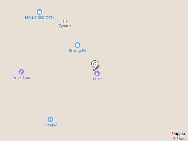 Суши-Маркет на карте Казани