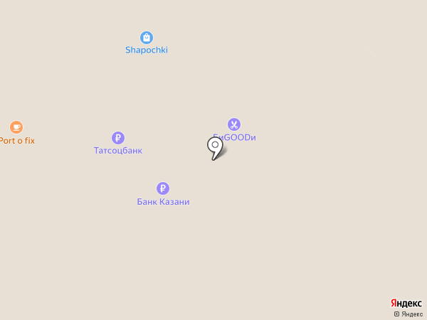 Accent на карте Казани