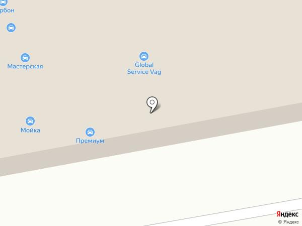 РОСДОРСТРАХ на карте Казани