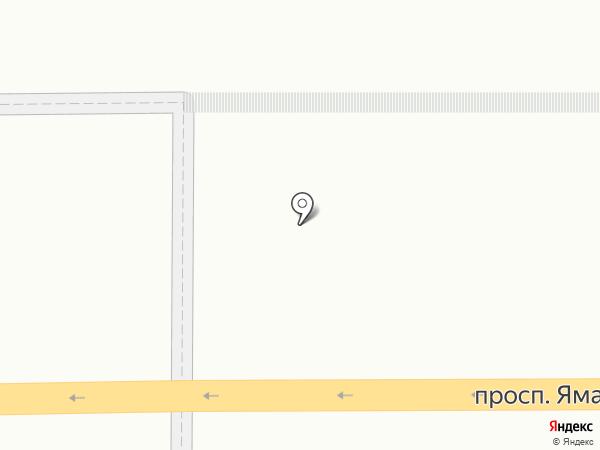 Аллея роз на карте Казани