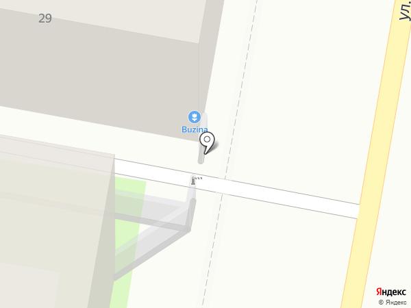 Buzina на карте Казани