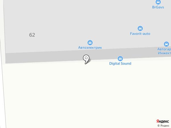 Автотема на карте Казани