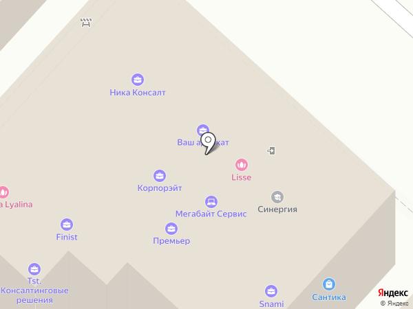 Адвокатский кабинет Гатаулина И.Б. на карте Казани