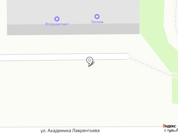 Вторцветмет на карте Казани