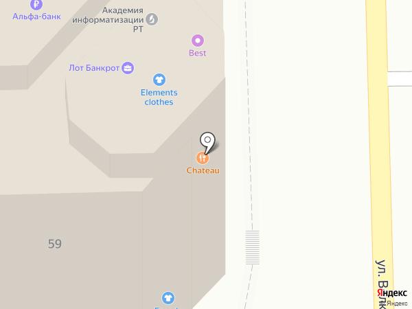 Центральная городская архитектурно-строительная лаборатория на карте Казани